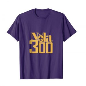 Sass & Sizzle Nola 300 Purple and Gold